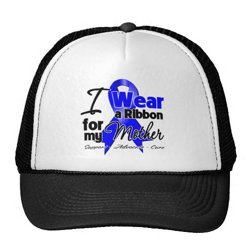 Mother - Colon Cancer Ribbon Trucker Hat
