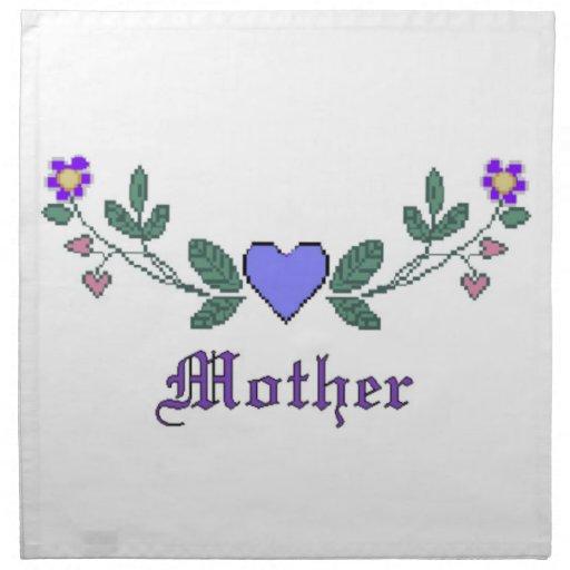 Mother CS Print Napkins