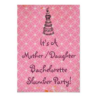 Mother Daughter Bachelorette Slumber Party Invite