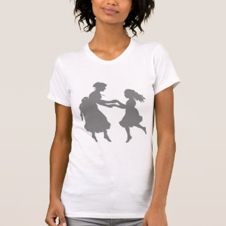 Mother & Daughter Holding Hands Dancing Tee Shirts