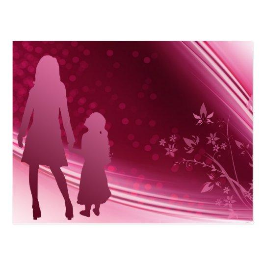 Mother - Daughter Postcard