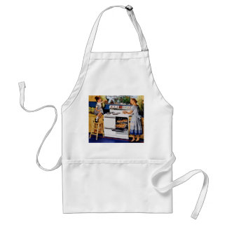 Mother/Daughter Retro Kitchen Apron