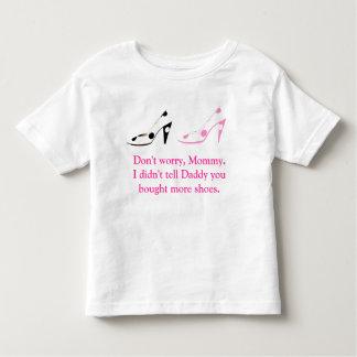 Mother Daughter Shoe Shopping Secrets T-shirts