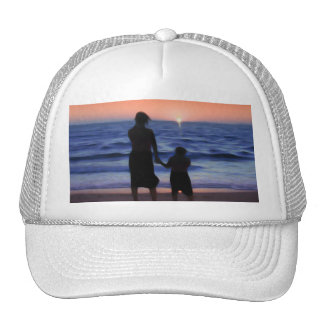 Mother Daughter Sunset Hats