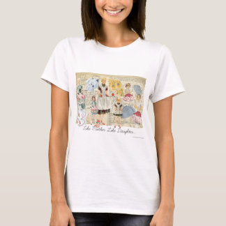 Mother Daughter Vintage Aprons T-shirt