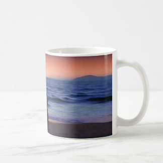 Mother & Daughter Walk on the Beach (Mother's Day) Coffee Mug