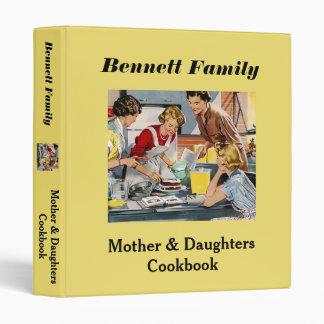 Mother & Daughters Cookbook Binder