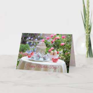 Mother Day Card with Garden