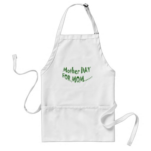 Mother Day For Mom beHappy together Apron