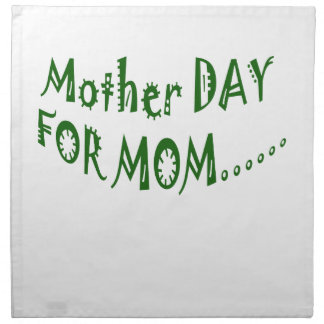 Mother Day For Mom beHappy together Cloth Napkin
