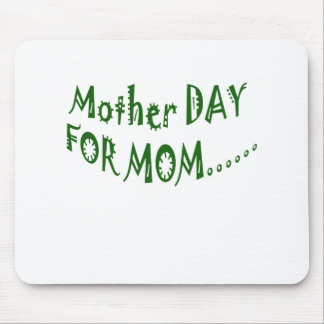 Mother Day For Mom beHappy together Mouse Pad