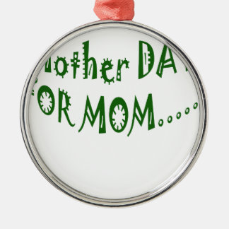 Mother Day For Mom beHappy together Christmas Tree Ornaments