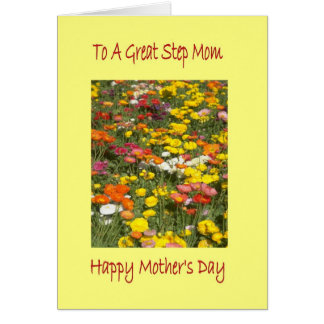 Mother Day Step Mom Card