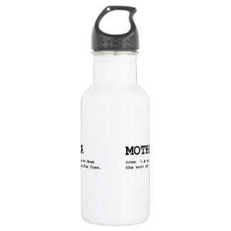 Mother Definition 18oz Water Bottle
