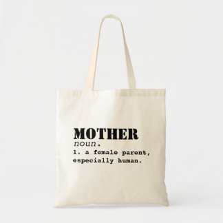 Mother Definition- Mother's Day Bag