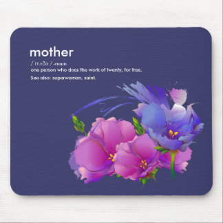 Mother Definition Mother's Day Gift Mousepads