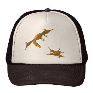 Mother Dinosaur giving flying lessons Trucker Hat