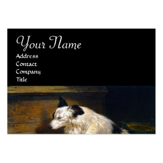 MOTHER DOG WITH DOGGIES LARGE BUSINESS CARDS (Pack OF 100)
