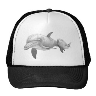 MOTHER DOLPHINS LOVE TRUCKER HAT