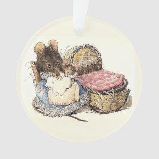 Mother Dormouse and her Child Ornament