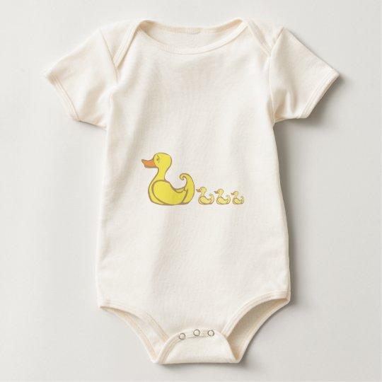 Mother Duck Baby Bodysuit