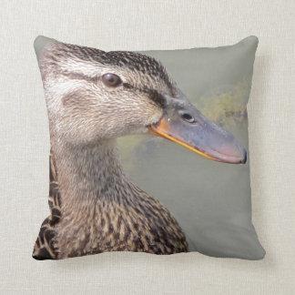 Mother Duck Throw Pillow