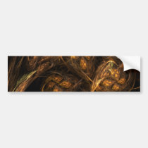 mother, earth, abstract, art, bumper, sticker, Bumper Sticker with custom graphic design