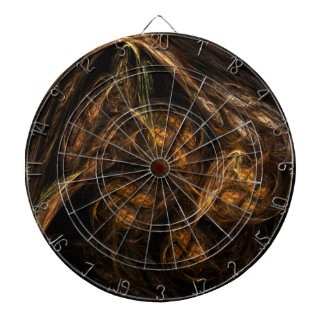 Mother Earth Abstract Art Dartboard