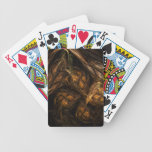 Mother Earth Abstract Art Deck Of Cards