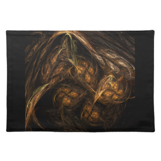 Mother Earth Abstract Art Placemat Cloth Placemat