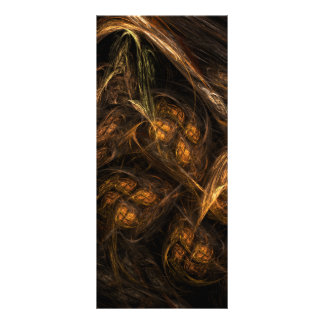 Mother Earth Abstract Art Rack Card