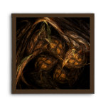 Mother Earth Abstract Art Square Envelope