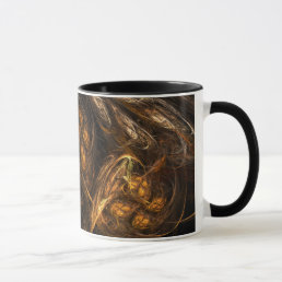 Mother Earth Abstract Coffee Mug