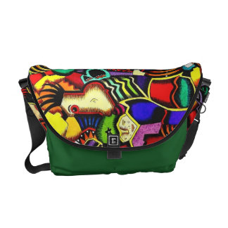 """Mother Earth and the Blind Gardener"" Messenger Courier Bag"
