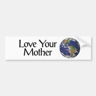 Mother Earth Bumper Sticker Car Bumper Sticker