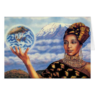 Mother Earth by Lisa Iris Greeting Card