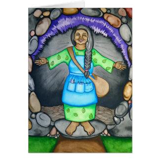 Mother Earth Card by Rita Loyd