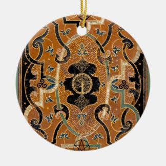 Mother Earth Ceramic Ornament