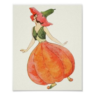 Mother Earth Children - Lady Pomegranate Poster