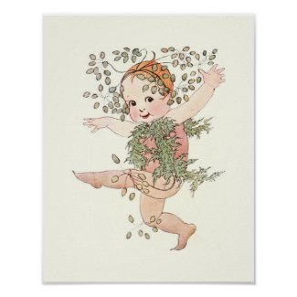 Mother Earth Children - Little Caraway Poster
