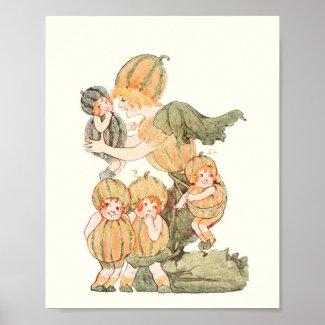 Mother Earth Children - Madam Muskmelon Poster