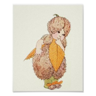 Mother Earth Children - Miss Beechnut Poster