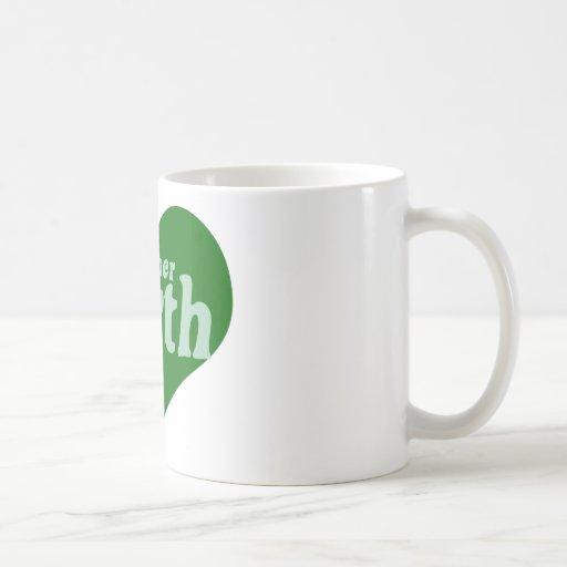 Mother Earth Classic White Coffee Mug