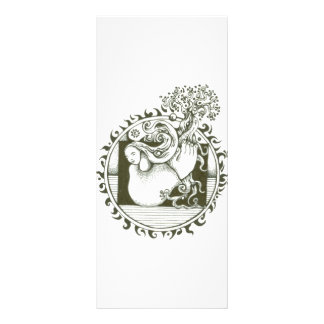 Mother Earth Collection in black and white Rack Card