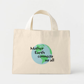 Mother Earth Connects Us All Bag
