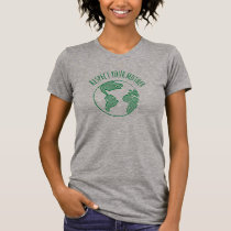 Mother Earth crew neck shirt womens