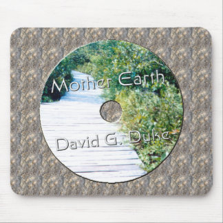 Mother earth Disk Lable Mouse Pad