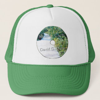 Mother earth Disk Lable Trucker Hat