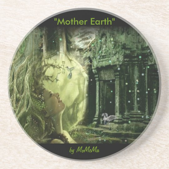 Mother Earth Drink Coaster