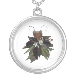 Mother Earth Flower Fairy Necklace